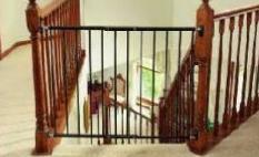 Hardware-Mounted Baby Gate