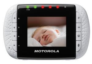 Motorola Digital Video Baby Monitor Screen