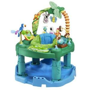73ebcf73b Evenflow ExerSaucer Triple Fun Jungle Review