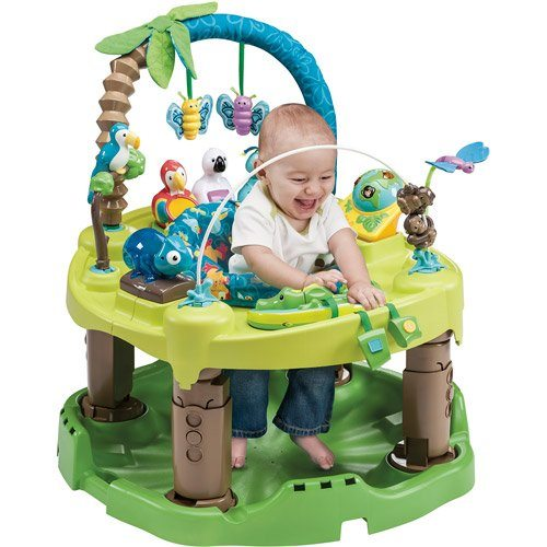 Evenflow Exersaucer Triple Fun Jungle Review