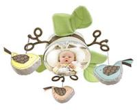 Fisher-Price My Little Snugabunny Cradle 'n Swing Mirror