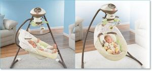 Fisher-Price My Little Snugabunny Cradle 'n Swing Safety