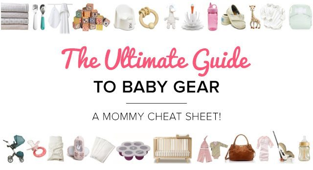 The MomTricks Ultimate Guide to Baby Gear