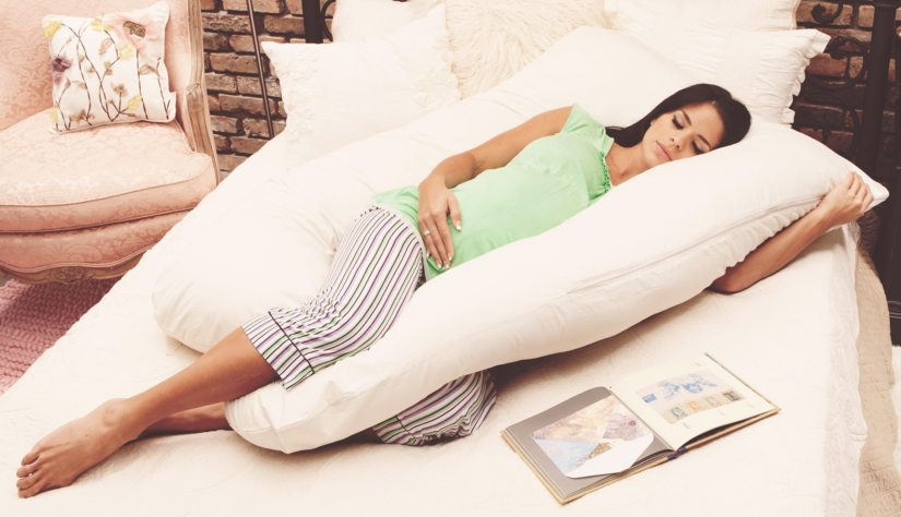 the best pregnancy pillow for comfortable sleep