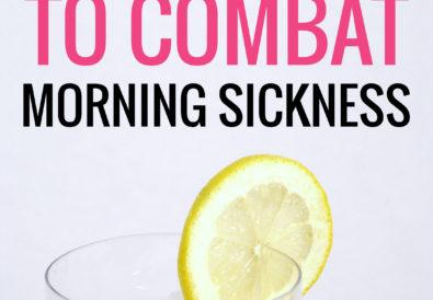11 simple tricks to combat morning sickness
