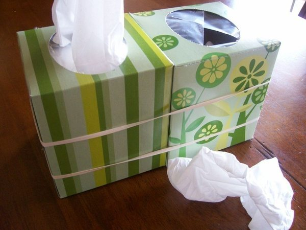 double kleenex box