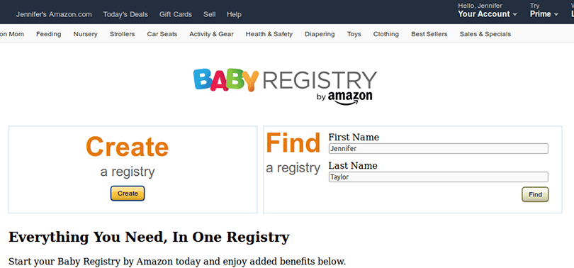 Italian Boy Name: Best Baby Registry Sites: Amazon Vs Target (and 3 Others