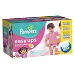 pampers easy up trainers for girls