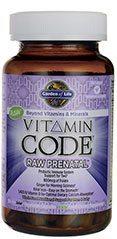 Garden of Life Prenatal Vitamins