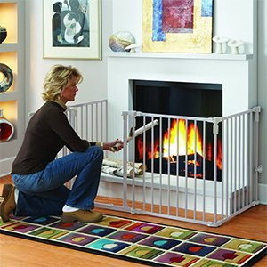 baby proofing 101 how to baby proof your fireplace rh momtricks com  fireplace protector for babies