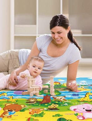 Baby Care Tummy Time mat