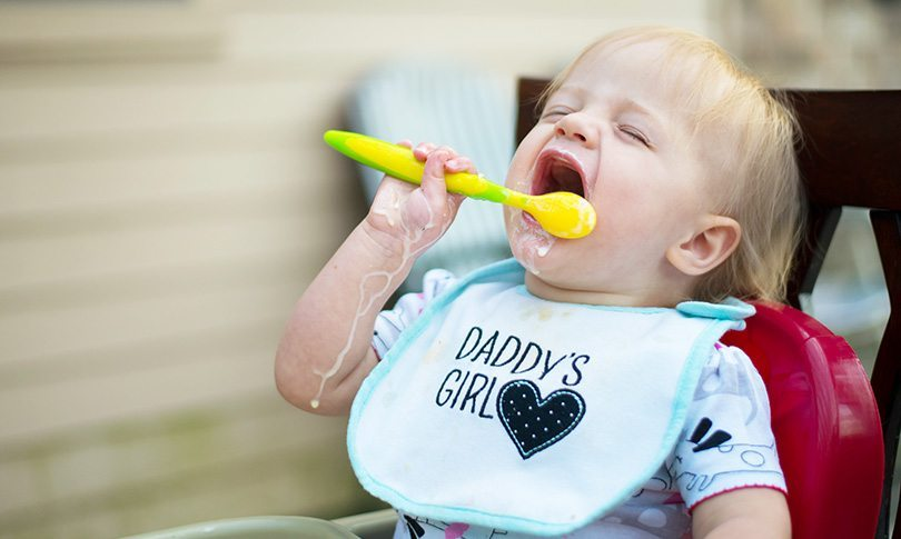 Baby-led weaning is messy... but it works!