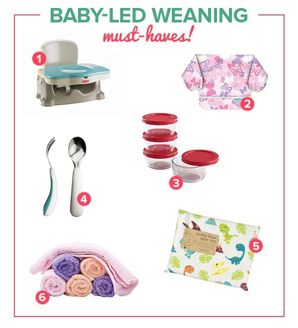 Baby-Led Weaning Must-Haves