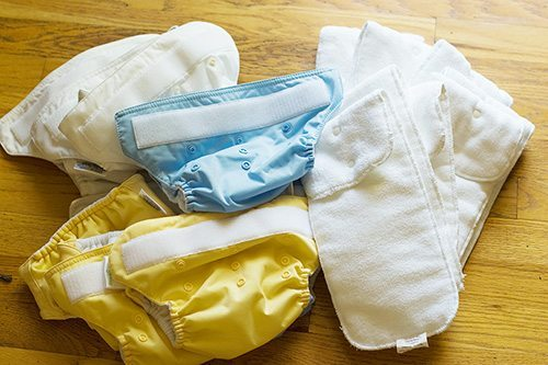 BumGenius diapers in all their glory.