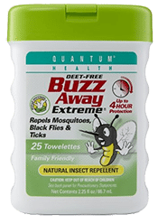 Buzz Away Extreme Towelettes