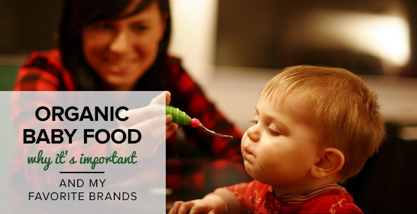 Mom's Guide to Organic Baby Food