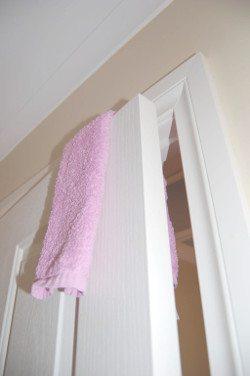 baby proof door DIY