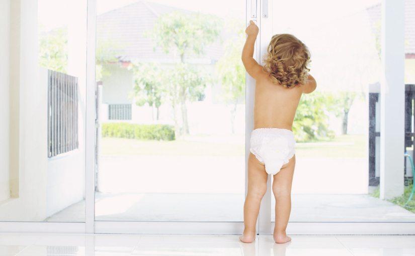 how to baby-proof doors
