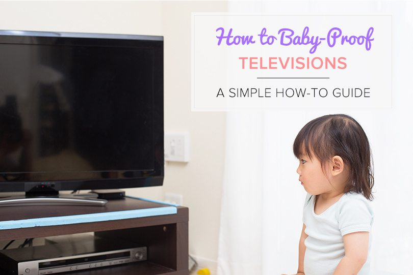 how to baby proof a television