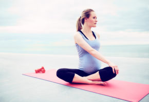 how to lose weight while pregnant safely